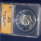 1976 S Eisenhower 40% Siver, ANACS PF-64, proof coin, 1776-1976, DCAM,