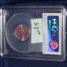2009 D Bicentennial Lincoln Penny, Formative Years, First Day of Issue, PCGS MS-65 Red