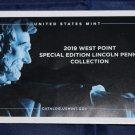 """2019 """"W"""" Lincoln shield cent, Rare, Proof, brilliant. Uncirculated, Cameo,"""