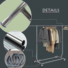 High Quality Commercial Clothes Garment Rolling Collapsible Rack Hanger Sturdy Storage