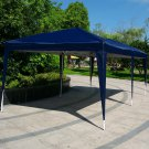 10' x 20'Easy Pop Up Folding Gazebo Canopy Cover Outdoor Wedding Party Tent Blue