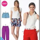 McCalls 6930/0534 Misses Uncut-FF Shorts Pants Sewing Pattern sz:A5 6-14 ©2014