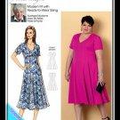 Butterick 6660 Women's Plus Uncut-FF Dress Sewing Pattern sz:XXL-6XL18W-44W ©2019