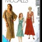 McCalls 4589 Misses Uncut-FF Skirt Top Sewing Pattern sz:DD12-18 ©2004