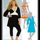 McCalls 5435 Women's Plus Uncut-FF Dress Sewing Pattern sz:RR18W-24W ©2007
