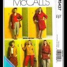 McCalls 5437 Women's Plus Uncut-FF Dress Pants Skirt Top Sewing Pattern sz:KK26W-32W ©2007