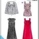 New Look 6828 Misses Uncut-FF Dress Top Sewing Pattern sz:A6-16 ©2008