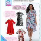 McCalls Learn to sew for fun 7711 Misses Uncut-FF Dress Top Sewing Pattern sz:OSZ4-22 ©2018