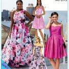 McCalls 7895 Women's Plus Uncut-FF Dress Sewing Pattern sz:RR18W-24W ©2019