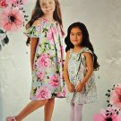 New Look 6522 Girls Uncut-FF Dress Sewing Pattern sz: 3-14 ©2017