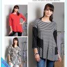 Vogue 9301 Women's Plus Uncut-FF Dress Top Sewing Pattern sz:ZZ16-26 ©2018