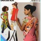 Butterick 6216 Women's Plus Uncut-FF Top Sewing Pattern sz:L-XXL16-26 ©2015