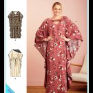Simplicity 9323 Women's Plus Uncut-FF Cover-up Top Sewing Pattern sz:XS-XL6-24 ©2021
