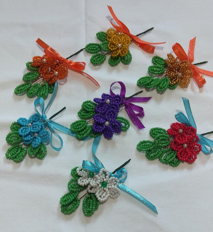 Wedding Pins (Beaded)