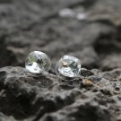 Genuine Swarovski Clear Crystal Earrings Studs Dainty Elegant Studs Faceted Elegant Earrings