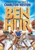 Ben Hur Animated DVD feat. voice of Charlton Heston FREE SHIPPING!