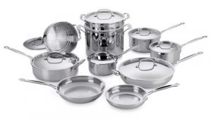 Cuisinart Chef's 17 pc Cookware Set