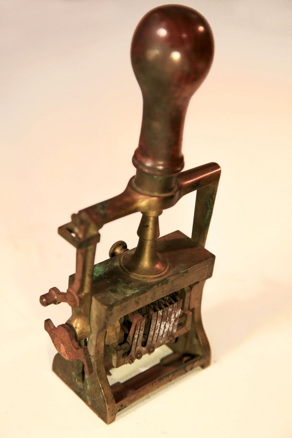 A set of mechanical stamps., 1903