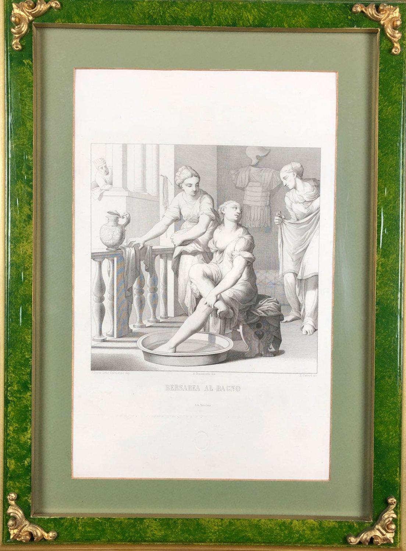G.Porta detto Salviatino dip, A.Frassinetti dis.R.Cerroti inc. Bersabea Al Bagno
