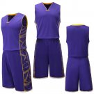 Men's New basketball jersey  custom your name and number Purple