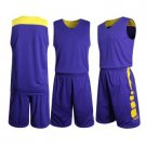 New basketball jersey  custom your name and number Purple
