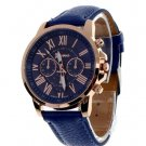 Unisex Casual Quartz Watch - Dark Blue