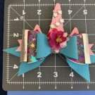 Unicorn Horn Hair Bow