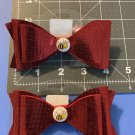 Bow with Center Accents