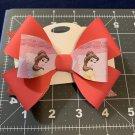 Disney Princess Belle Triple layered Hair Bow
