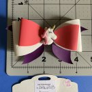 Unicorn Large Hair bow