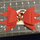 Disney Mini Mouse Faux Leather Hair Bow