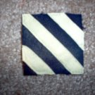 """WWI US Army 3rd Division Patch Wool """"Rock of the Marne"""""""