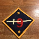 WWI US Army 9th Division Patch Wool