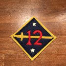 WWI US Army 12th Division Patch Wool