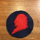 """WWI US Army 11th Division Patch Wool """"Lafayette"""""""