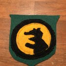 """WWI US Army 14th Division Patch Wool """"Wolverine"""""""