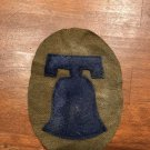 """WWI US Army 16th Division Patch Wool """"Liberty Bell"""""""