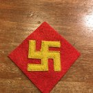 WWII pre war US Army 45th Division ,First pattern, Native American Patch Wool