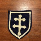 WWI US Army 79th Division Patch Wool