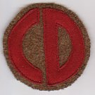 WWI US Army 85th Division Patch Wool