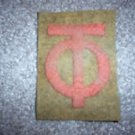 WWI US Army 90th Division,Patch Wool