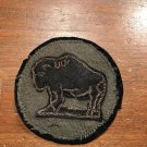 WWI US Army 92nd Division,Patch Wool