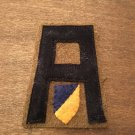 WWI US Army First Army Chemical Corps patch wool