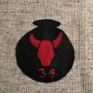 WWI US Army 36th Division, Patch Wool