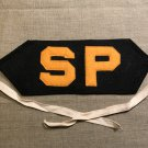 WWII US Navy Shore Patrol Armband SP wool