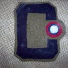 WWI US Army Air Service Third Army Aero patch wool