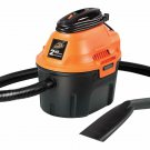 Utility Wet Dry Vacuum With 2.5 Gallon Storage Tank And 2 Horsepower Motor Tools