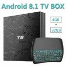 Evanpo Android 8.1 Tv Box, 4Gb Ram 32Gb Rom Quad Core 64 Bits Processor 3D/4K/H.