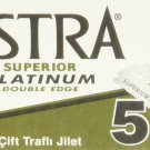 Astra Superior Platinum Double Edge Razor Blades - 30 Ct
