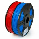 Wyzworks Pla 1.75Mm 2 Colors/Dual (  ) Premium 3D Printer Filament - Dimensiona